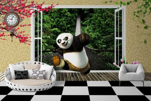 Kung Fu Panda Bridge Green