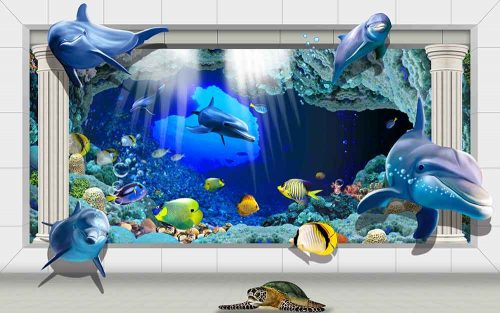 Whales Deep Ocean Fishes