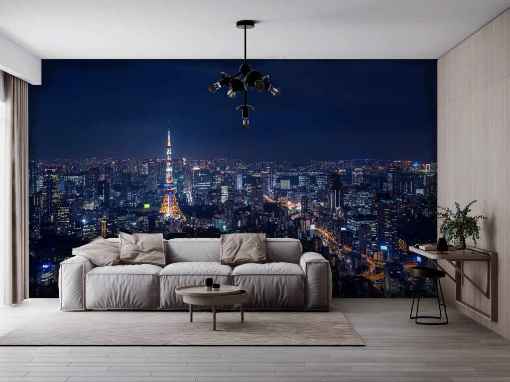 A wallmural to refresh your mood and upgrade your space.