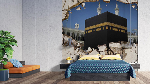 3D Mecca from Wall