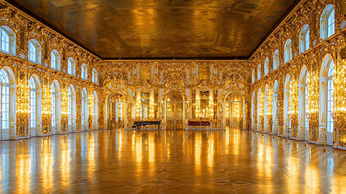 A Golden Palace in Europe