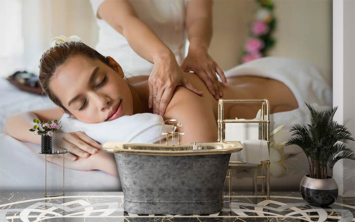 Relaxing With Massage