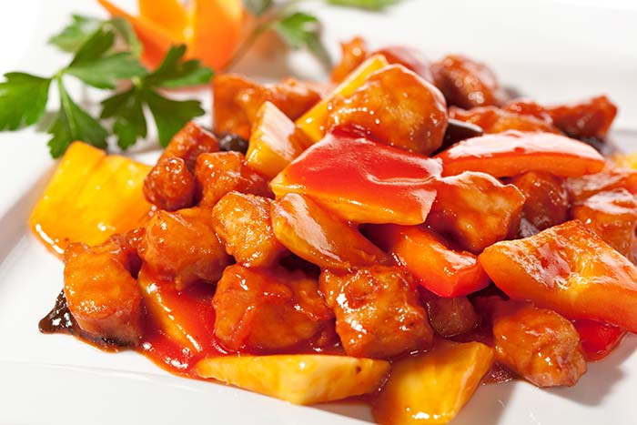 Hong Kong style Sweet and sour sauce