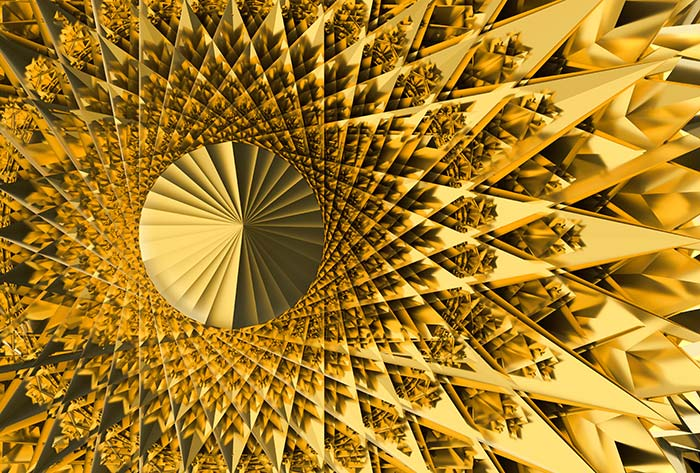 Golden Abstract Architecture