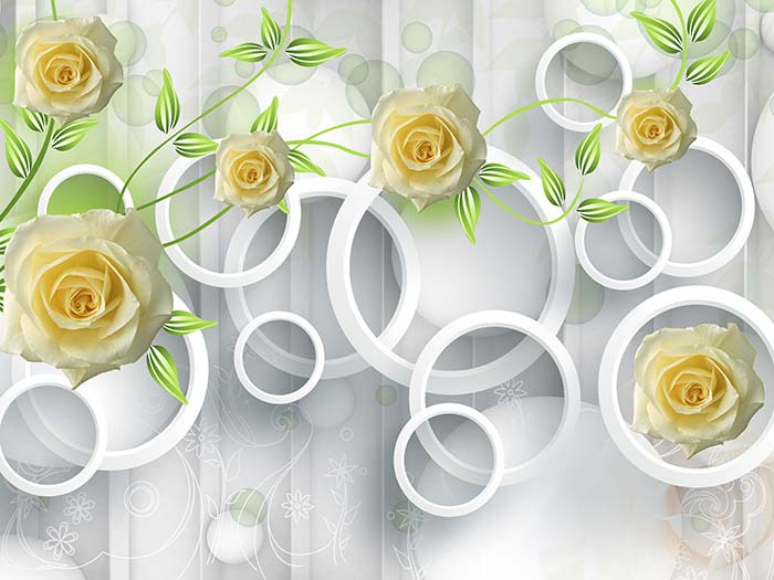Yellow Roses and Rings