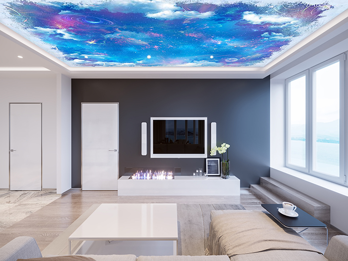 Abstract Painting Sky