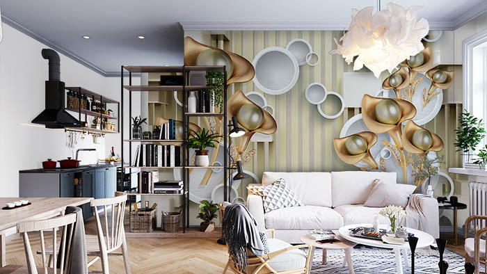 Wall Rings FLoral