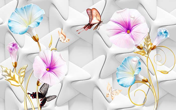 Abstract Pattern Floral