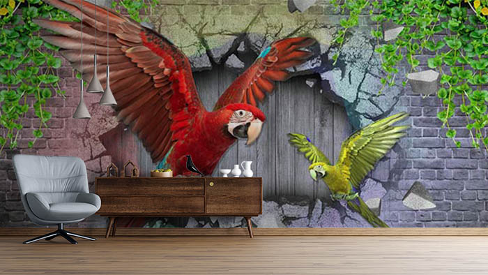 Parrot by the Tarrot