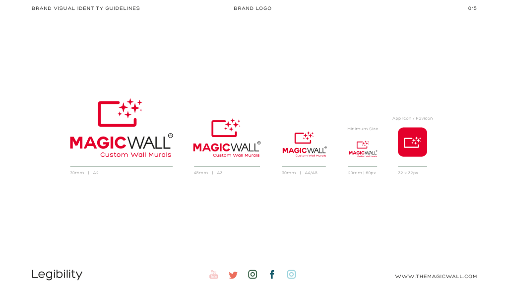 Magicwall® Branding & Trademark usages 11