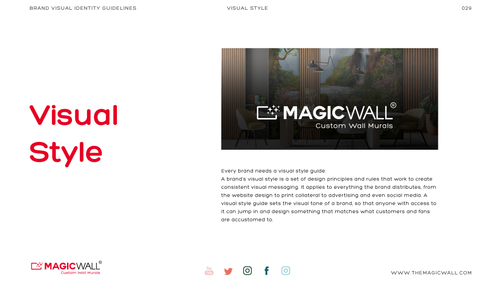 Magicwall® Branding & Trademark usages 16
