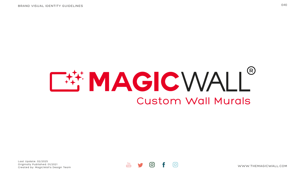 Magicwall® Branding & Trademark usages 17